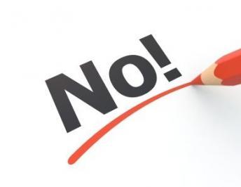 Enseñando a decir «NO»